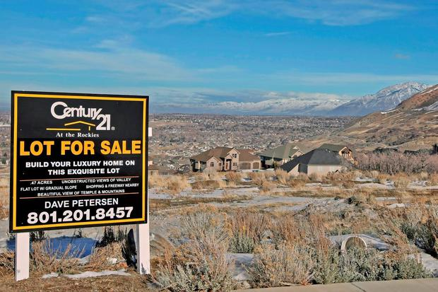 The view is that land values will appreciate as the US economy recovers