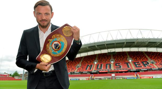 Lee will now defend his crown against Billy Joe Saunders in the 21,000 capacity Manchester Arena on Saturday, October 10