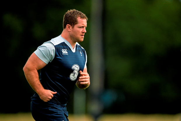 Ireland's Michael Bent in action during squad training. Photo: Brendan Moran / Sportsfile