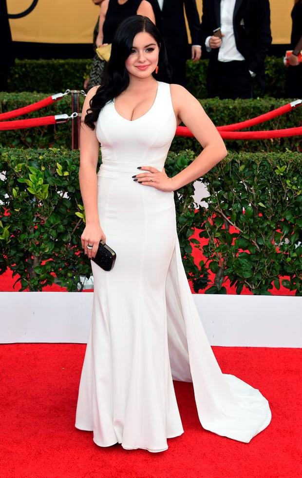 Actress Ariel Winter attends the 21st Annual Screen Actors Guild Awards at The Shrine Auditorium on January 25, 2015 in Los Angeles, California. (Photo by Ethan Miller/Getty Images)