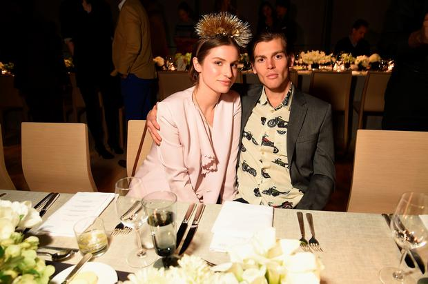 Tali Lennox and Ian Jones pictured together last April. (Photo by Dimitrios Kambouris/Getty Images for Audi)