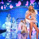 Victoria's Secret model Stella Maxwell walks the runway during the 2014 Victoria's Secret Fashion Show at Earl's Court exhibition centre on December 2, 2014 in London, England. (Photo by Dimitrios Kambouris/Getty Images for Victoria's Secret)