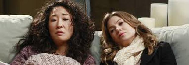 Grey's Anatomy best friends Meredith and Cristina