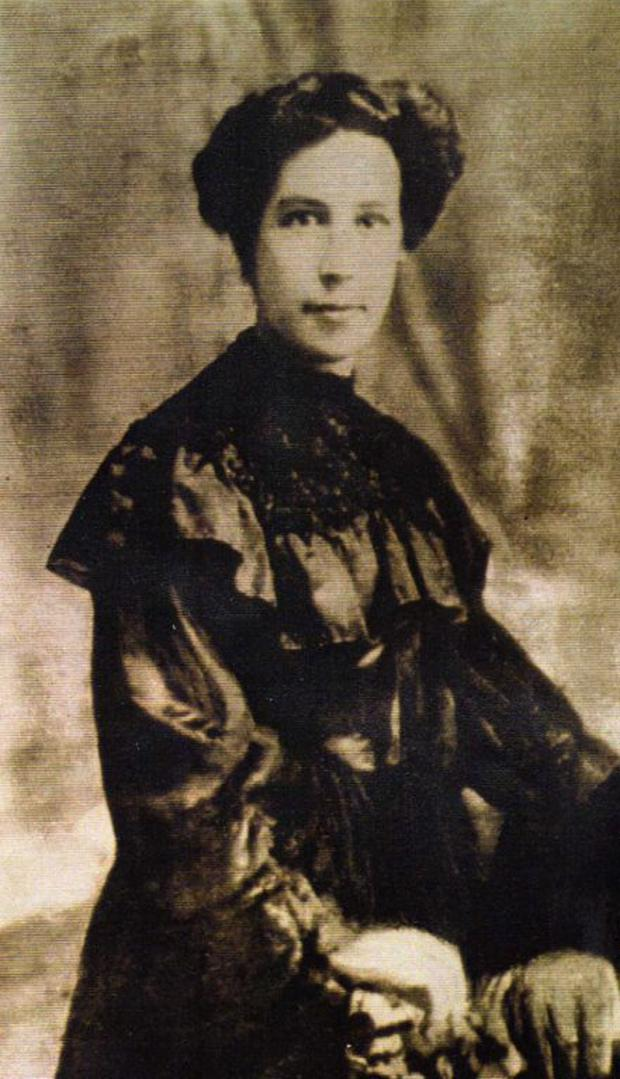 Ellen Byrne and her children were trapped in their home for days during the Easter Rising
