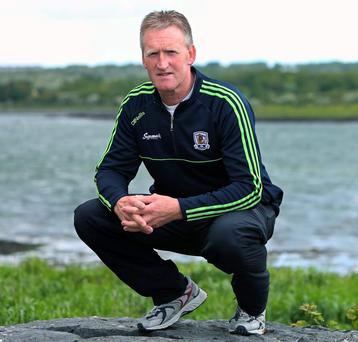 Galway's U-21 manager Tony Keady in Oranmore, Co. Galway ANDREW DOWNES
