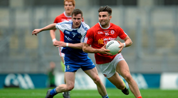 Had any of us such beautifully manicured follicles as Tiernan McCann, we too would react pretty strongly if a thicklimbed lad from Monaghan decided to tussle the 'do'