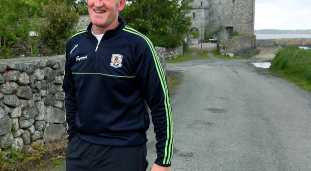 Galway's U-21 manager Tony Keady at Oranmore, Co. Galway. Photograph: Andrew Downes