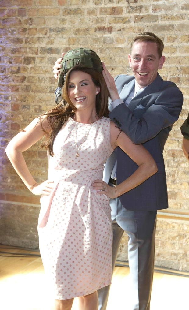 Mairead Ronan (nee Farrell) and Ryan Tubridy. Photo: Damien Eagers