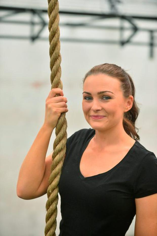 Joanna Kiernan at the Performance and Fitness Academy, Newhall, Naas. Photo: Adrian Melia