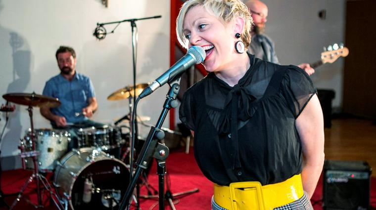 Carol Keogh during the Windmill Lane Sessions