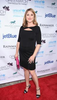 Author Jenna Bush Hager attends Greenwich Film Festival 2015 - All Things Must Pass Opening Night Premiere at Bow Tie Cinemas on June 5, 2015 in Greenwich, Connecticut.