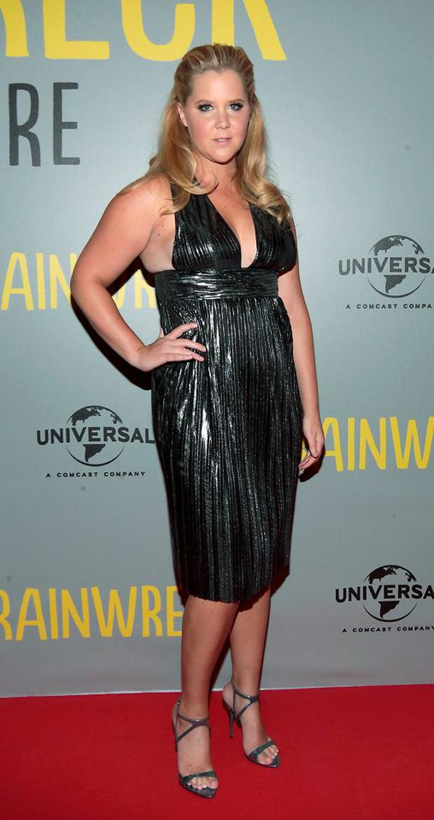Amy Schumer on the red carpet tonight at The Irish Premiere screening of Trainwreck at The Savoy Cinema Dublin Picture:Brian McEvoy