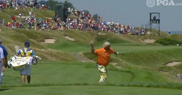 John Daly was not a happy camper