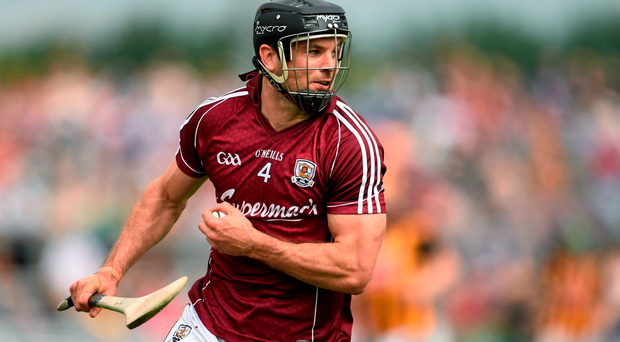 Galway captain David Collins must play a waiting game as he bids to regain his place in the Tribesmen's defence
