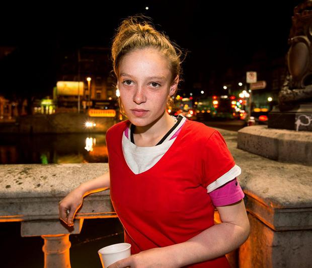 Charlotte (20) from Dublin, who lived in care all through her childhood and has been homeless for the past three years