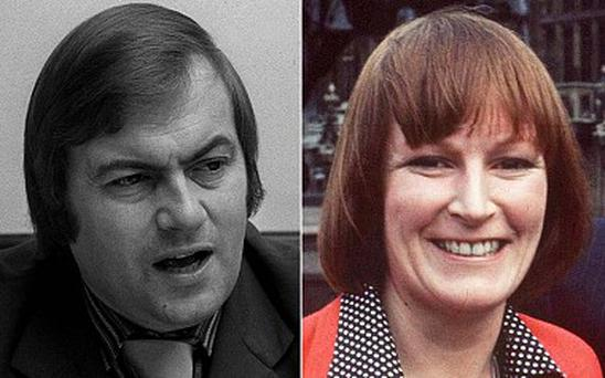 John Prescott in 1974, and Linda McDougall in 1977