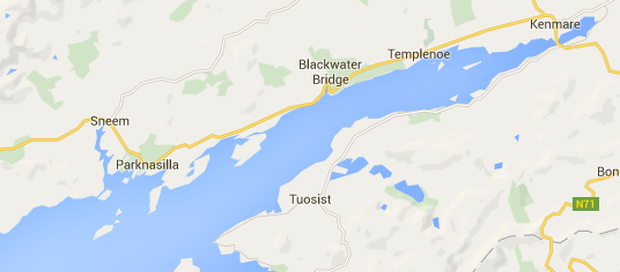 The collision occurred on the N70, between Kenmare and Sneem, at Lackeen, Blackwater in Kerry.