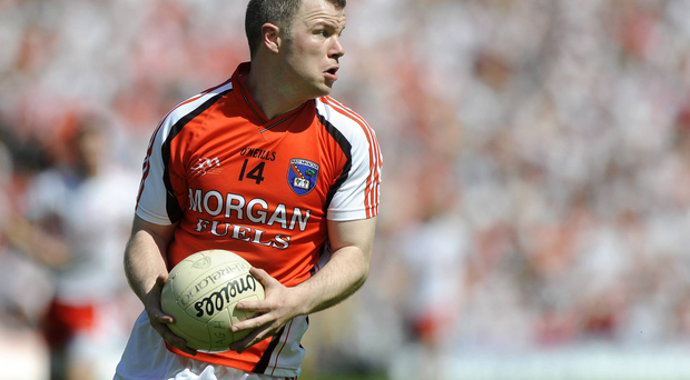 Ronan Clarke in action for Armagh in 2009