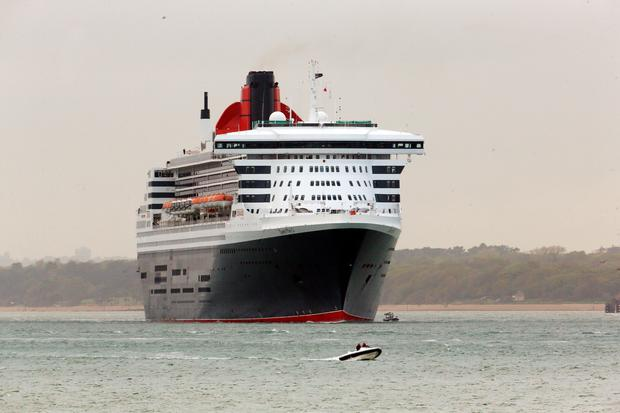 Cunard's Queen Mary 2. Photo: Steve Parsons/PA Wire