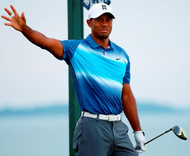 'I'm hitting shots and able to hit shots that I haven't been able to hit in years' - but Tiger Woods' travails continued at the US PGA Championship Photo: Tom Pennington