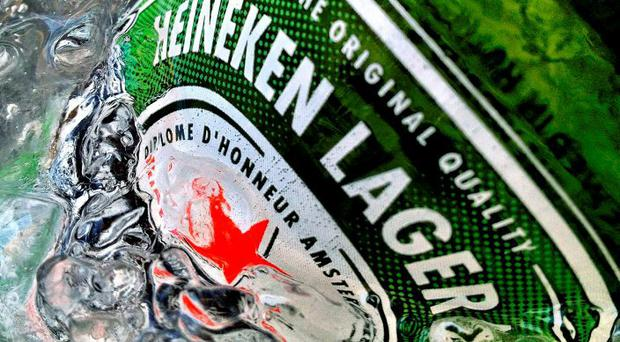 Heineken has one of the largest market shares in its sector