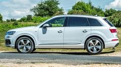ELEGANT AND MODERN: the Audi Q7 has been revamped and is now significantly lighter than the old model
