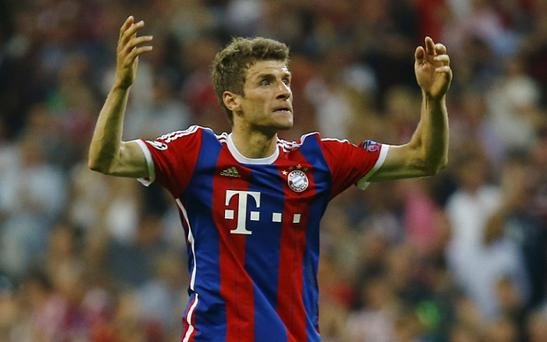 Bayern Munich's Thomas Muller continues to be linked with a move to Manchester United