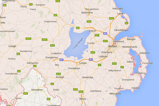 A 21-year-old man was killed in a road crash in Co Antrim, while four people were injured in a crash in Co Down.