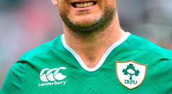 Gordon D'Arcy's days with Ireland look almost over.