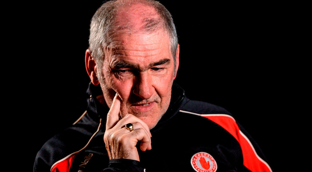 Mickey Harte places himself above the noise and fury