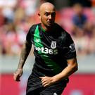 Stephen Ireland of Stoke City played a vital part in his team's comeback against Spurs