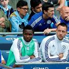 Chelsea's John Terry sat on the bench after being substituted at half time Action Images via Reuters / Carl Recine