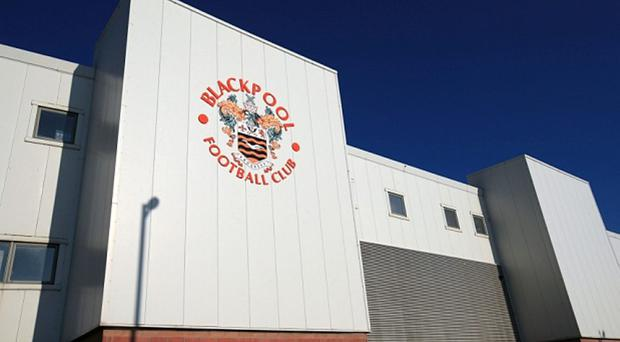 A general view of Bloomfield Road, home of Blackpool.