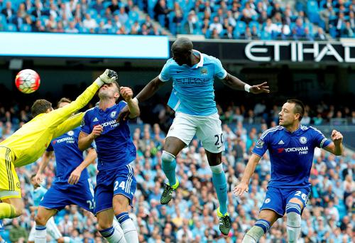 Eliaquim Mangala is set to stay at Manchester City