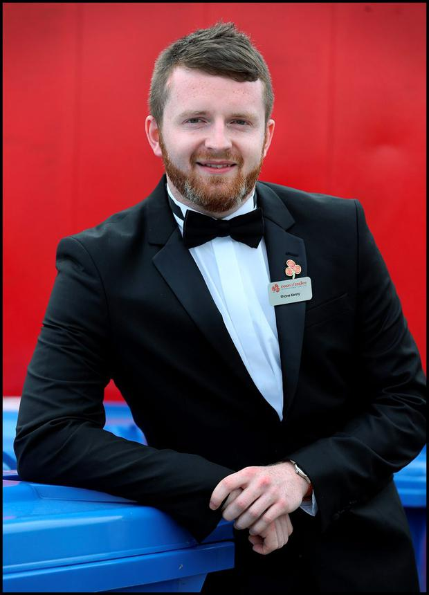 Rose of Tralee Escort of the Year was Shane Kenny. Pic Steve Humphreys