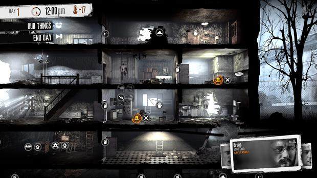 This War of Mine: lots to scavenge, plenty to explore