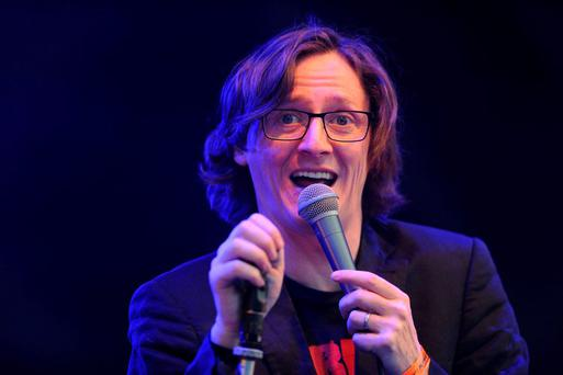 Ed Byrne. No really, this IS Ed.