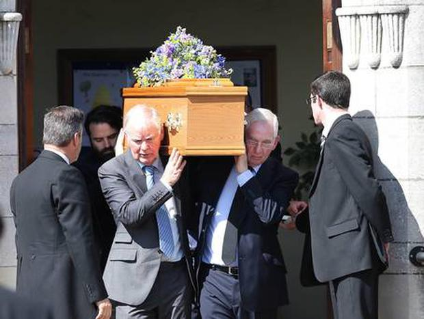 The funeral of Oliver Scullion takes place in Belfast