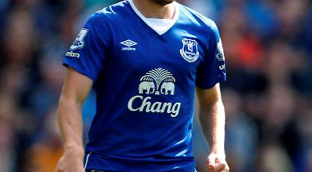 Everton's Tom Cleverley was signed on a free transfer from Manchester United