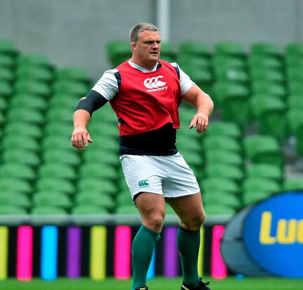Connacht's Nathan White is doing everything to impress in his game against Munster as he tries to secure a place in the Ireland World Cup squad