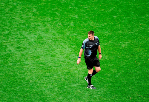 Referee Brian Gavin has refereed 8 finals between 2011-2015.