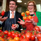 Damien English, Minister for Skills, Research and Innovation with Education Minister Jan O'Sullivan: the purpose of World Skills is that it demonstrates to Government and teachers that there is an alternative to running an economy solely built on people who have degrees, masters and PhDs