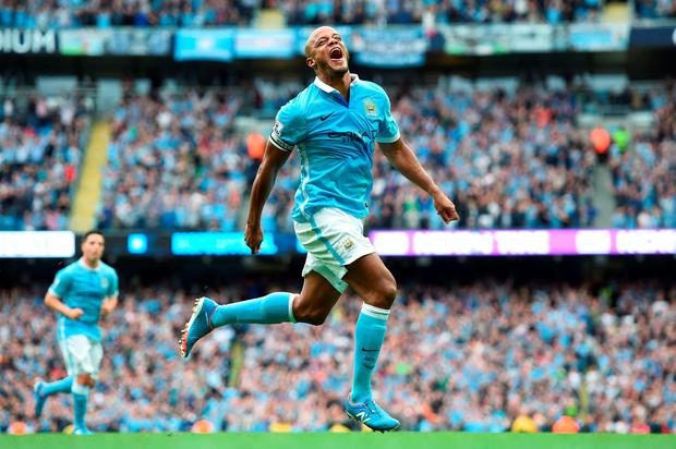 Manchester City's Vincent Kompany has shown a renewed appetite for success this season