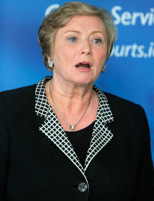 Frances Fitzgerald, TD, Minister for Justice Picture credit; Damien Eagers / Irish Independent 13/7/2015