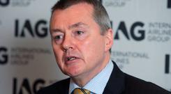 IAG Chief Executive Willie Walsh: '[Aer Lingus] will remain an iconic Irish brand with its base and management team in Ireland but will now grow as part of a strong, profitable airline group'