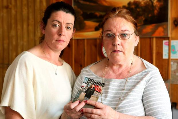 Fiona's sister Diane Sinnott and mother Mary Sinnott. Picture: Gerry Mooney