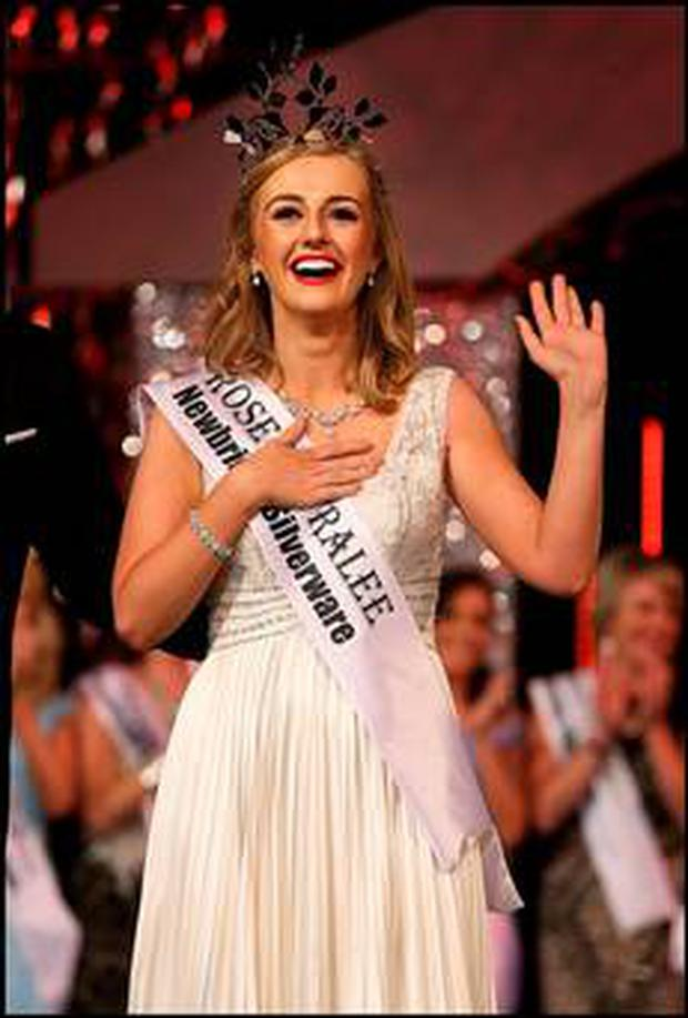 2015's Rose of Tralee Elysha Brennan