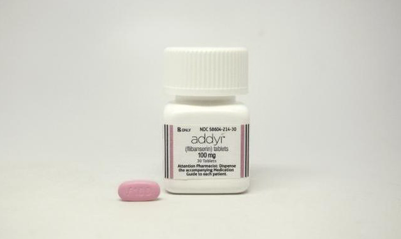 The drug, flibanserin, under the trade name Addyi, nicknamed