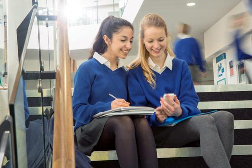 The transition between primary and secondary school can be tough
