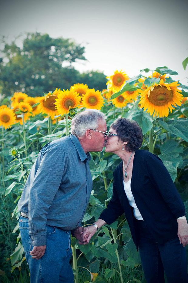 Don and Babbette pictured before her death in November 2014 Photo via Babbette's Seeds of Hope